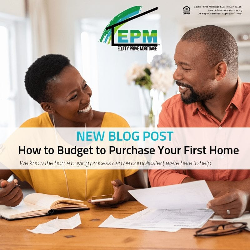 How to Budget to Purchase Your First Home
