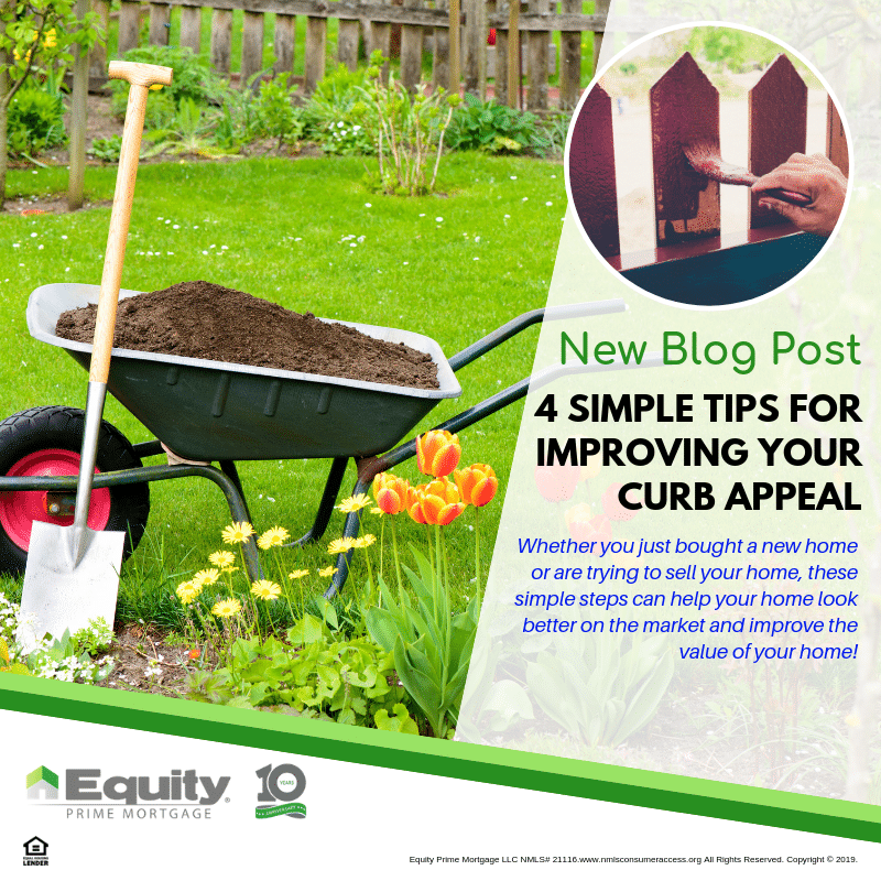 4 Simple Tips for Improving Your Curb Appeal