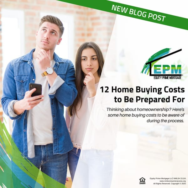 12 Home Buying Costs to Be Prepared For