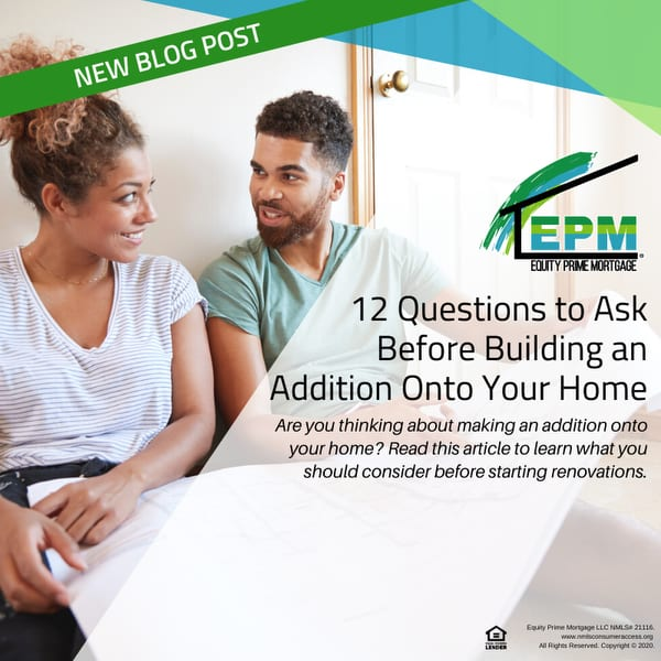 12 Questions to Ask Before Building an Addition Onto Your Home