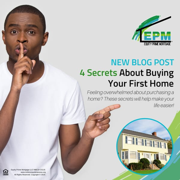 4 Secrets About Buying Your First Home