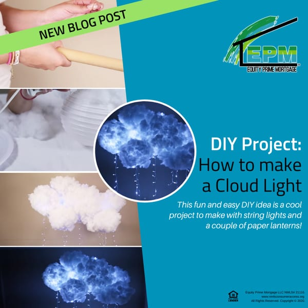 DIY Project: How to make a Cloud Light