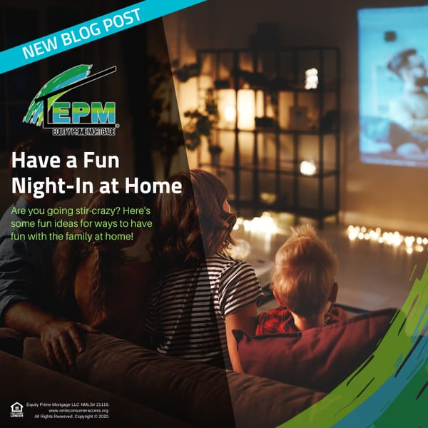 Have a Fun Night-In at Home