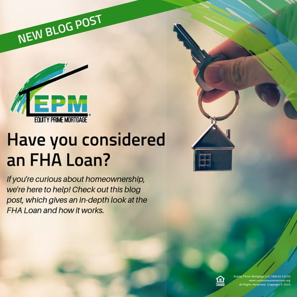 Have you considered an FHA Loan?