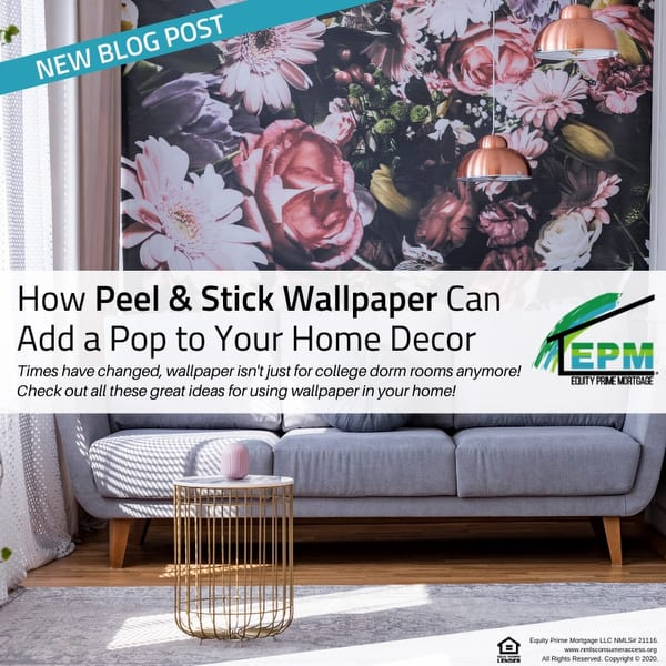 How Peel & Stick Wallpaper Can Add a Pop to Your Home Decor
