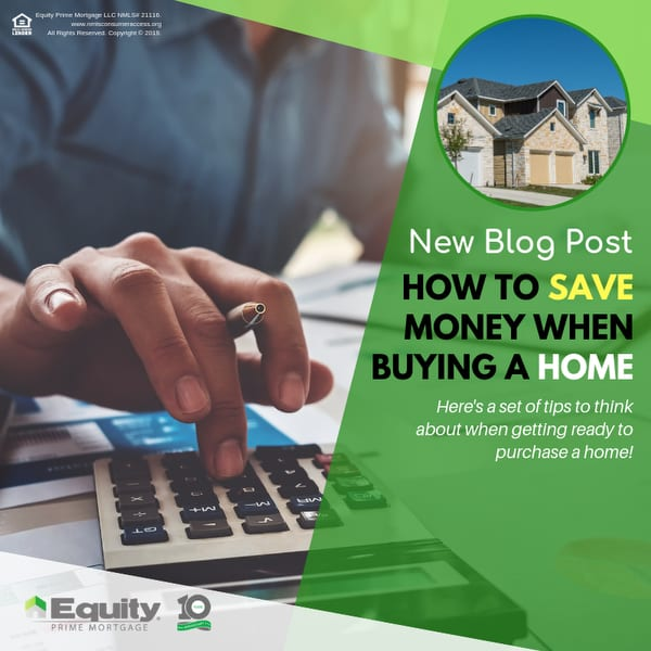 How to Save Money When Buying a Home
