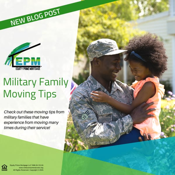 Military Family Moving Tips